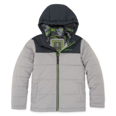 Free Country - Boys Midweight Puffer Jacket-Big Kid
