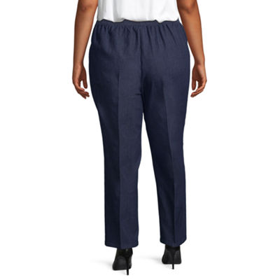 Alfred Dunner News Flash Classic Fit Pant - Plus