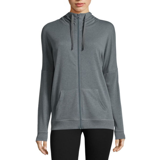 Xersion Lounge Full Zip Hoodie