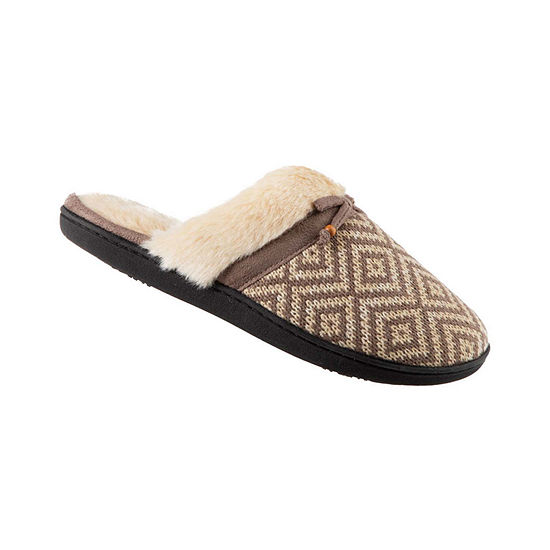 9dcd464609fc Isotoner Knit Clog Slippers with 360 Memory Foam - JCPenney