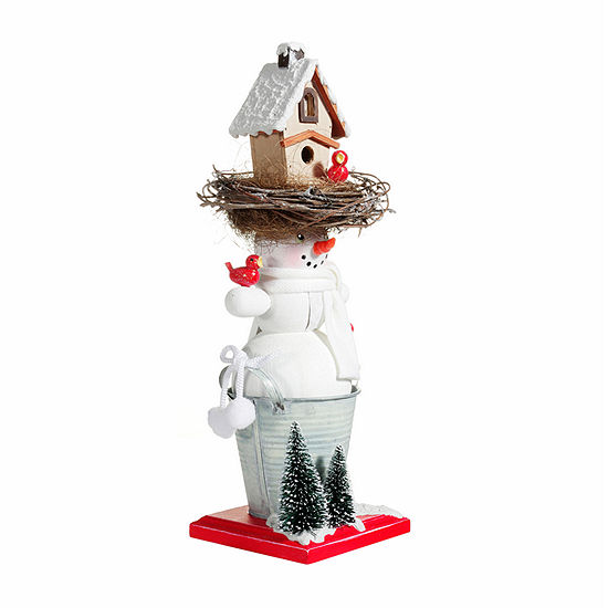 Kurt Adler 15.5-Inch Hollywood™ Snowman Birdhouse Hat Christmas Nutcracker
