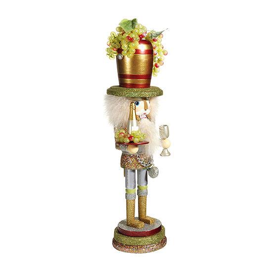 Kurt Adler 19.5-Inch Hollywood™ Wine Hat Christmas Nutcracker