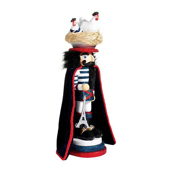 Kurt Adler 17.5-Inch Hollywood™ Three French Hens Christmas Nutcracker