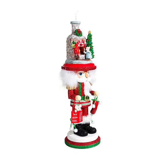 Kurt Adler 17.5-Inch Hollywood™ Stockings On Fireplace Christmas Nutcracker