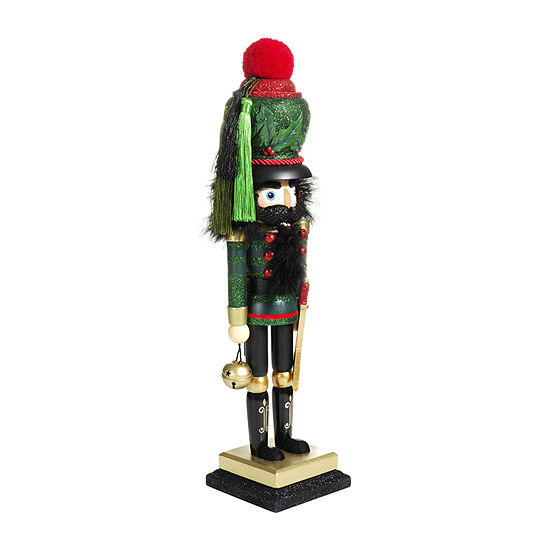 Kurt Adler 18.5-Inch Hollywood™ Holly Leaves Nutcracker
