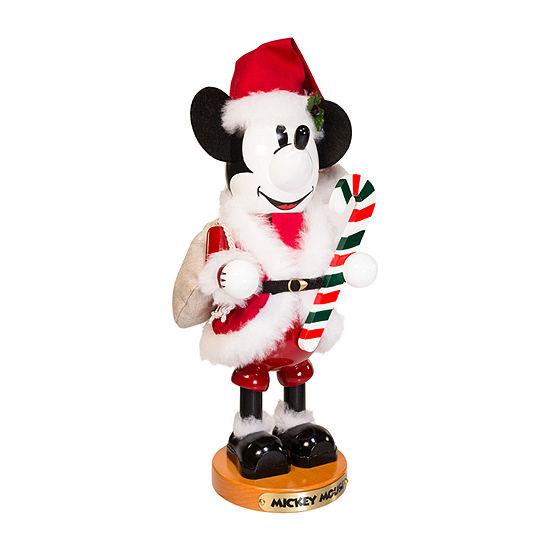 Kurt Adler Steinbach 14-Inch Mickey Mouse Santa Christmas Nutcracker