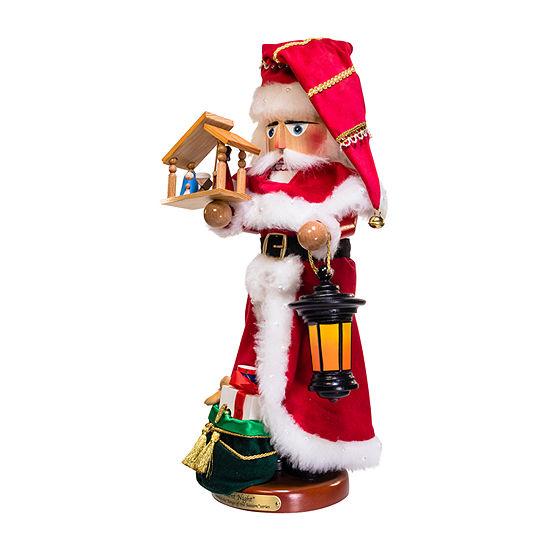 Kurt Adler 18.5-Inch Steinbach Silent Night Santa Christmas Nutcracker