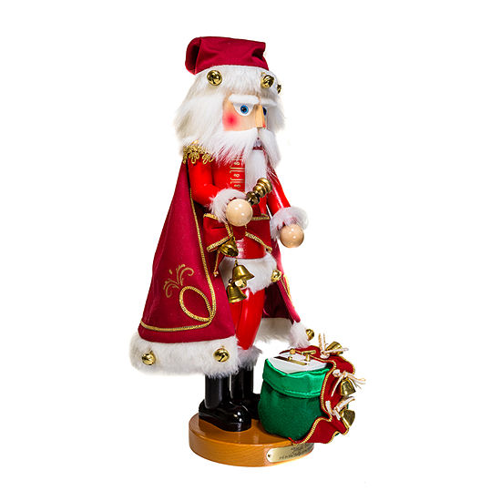 Kurt Adler 18.5-Inch Steinbach Jingle Bells Santa Musical Christmas Nutcracker