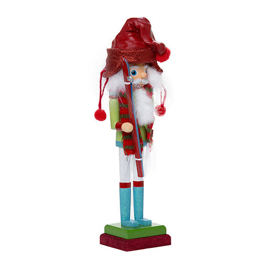 Kurt Adler 15-Inch Hollywood Skier Nutcracker