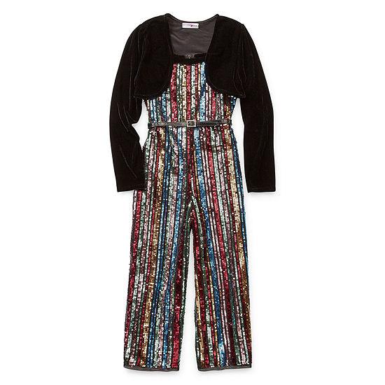 Knit Works 2-pc. Girls Jumpsuit - Big Kid