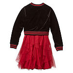 Knit Works Girls 2-pc. Jacket Dress - Big Kid