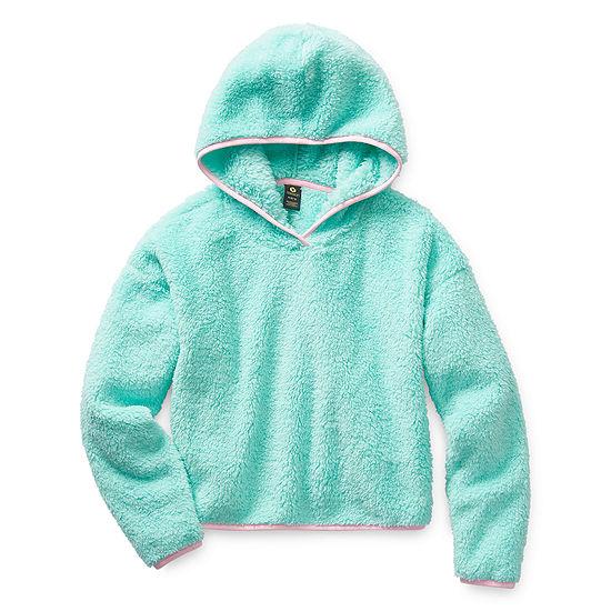 Xersion Minky Fleece Girls Hoodie - Preschool / Big Kid