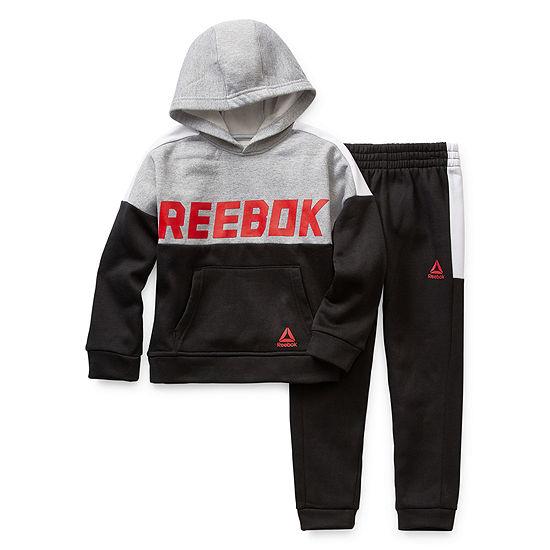 Reebok Back To School Boys 2-pc. Pant Set Preschool