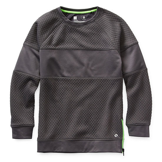 Xersion Little & Big Boys Long Sleeve T-Shirt