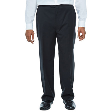 New Vintage Tuxedos, Tailcoats, Morning Suits, Dinner Jackets Stafford Travel Mens Classic Fit Tuxedo Pants Big and Tall 50 32 Black $54.00 AT vintagedancer.com