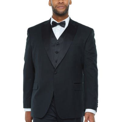 Stafford Travel Mens Classic Fit Tuxedo Jacket - Big and Tall