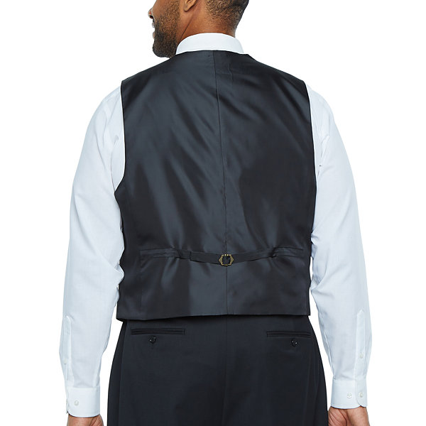 Stafford Travel Tuxedo Vest - Big and Tall