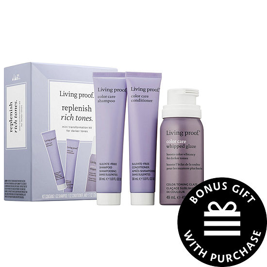 Living Proof Replenish Rich Tones Mini Transformation Kit