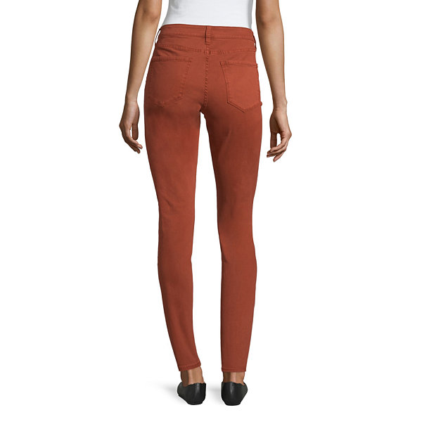 a.n.a Womens Mid Rise Slim Jeggings