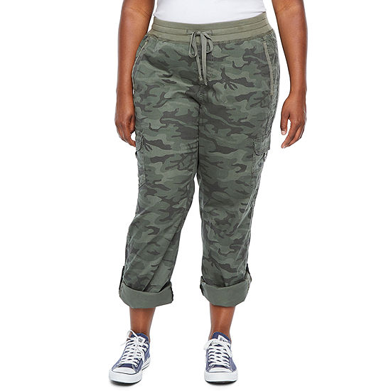 Supplies By Unionbay Stretch Twill Knit Waist Pull-On Pants - Plus