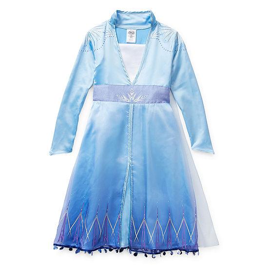 Disney Collection Frozen 2 Elsa Costume Girls