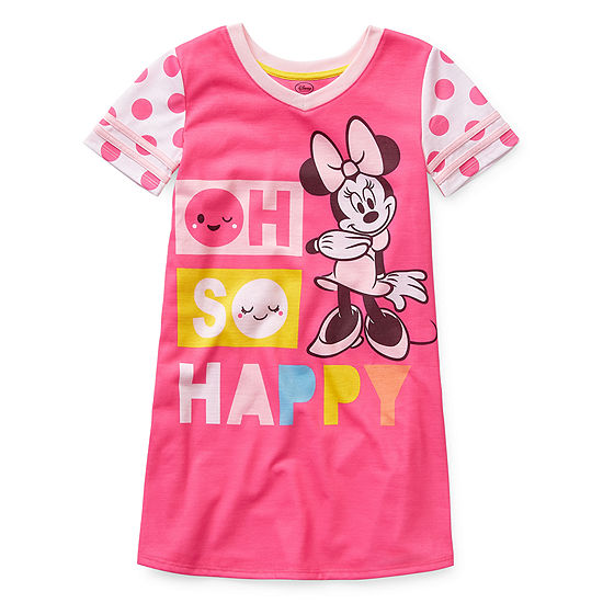 Disney Girls Nightshirt Minnie Mouse