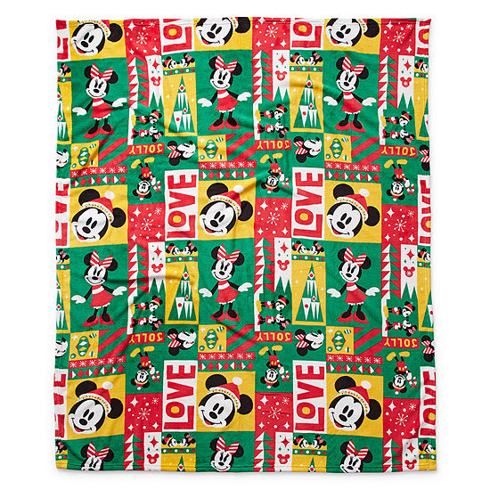 Disney Collection Mickey Mouse Throw