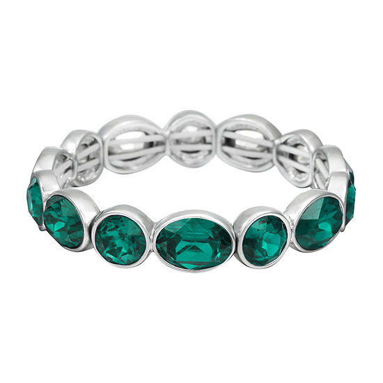 Liz Claiborne Green Stretch Bracelet