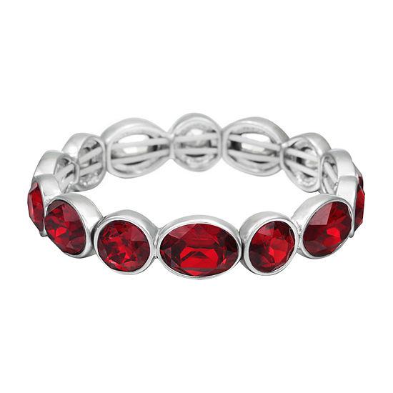 Liz Claiborne Red Stretch Bracelet