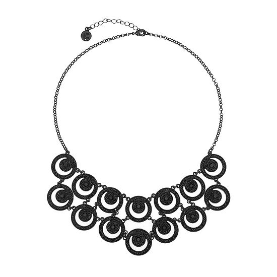 Liz Claiborne 17 Inch Cable Statement Necklace