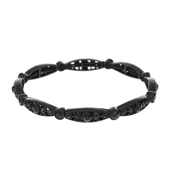 Liz Claiborne Black Stretch Bracelet