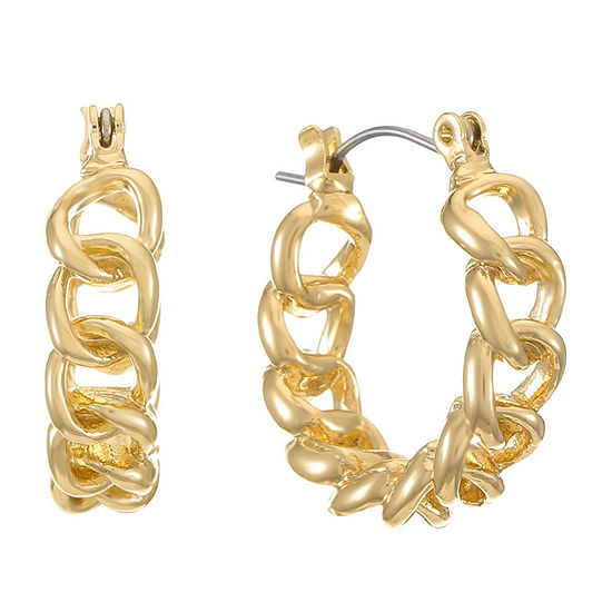 Monet Jewelry 1 Pair Hoop Earrings