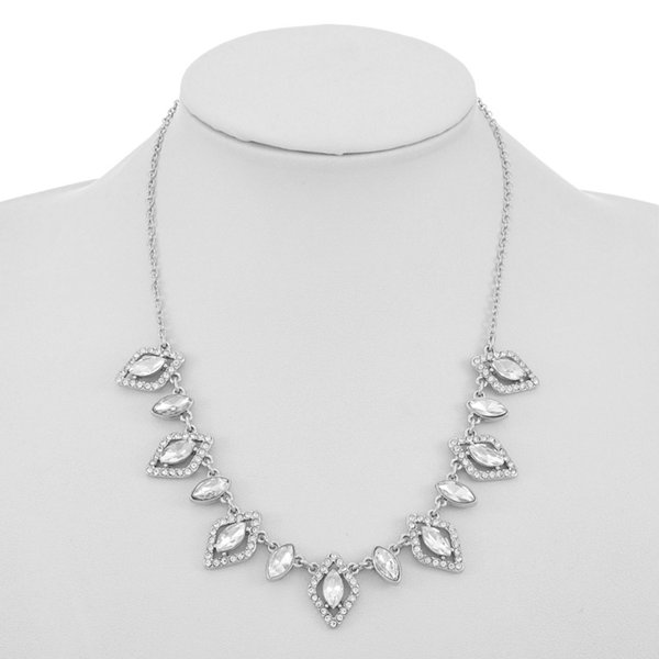 Monet Jewelry Bridal 17 Inch Cable Collar Necklace