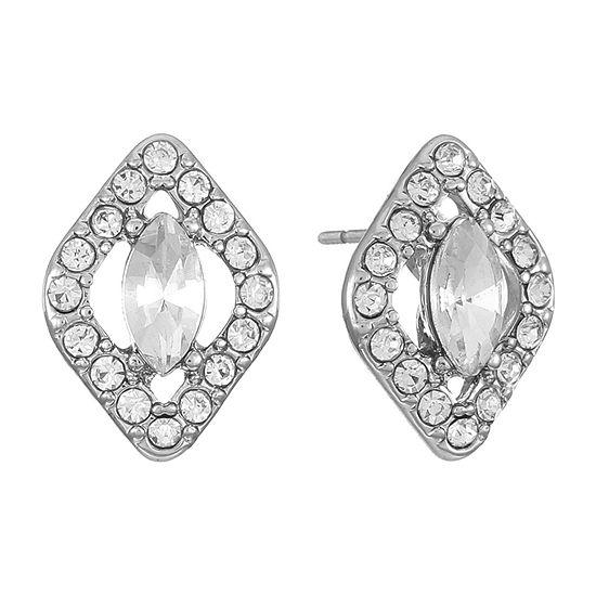Monet Jewelry Bridal 16.1mm Stud Earrings