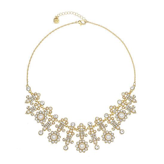 Monet Jewelry 18 Inch Rope Fleur De Lis Collar Necklace