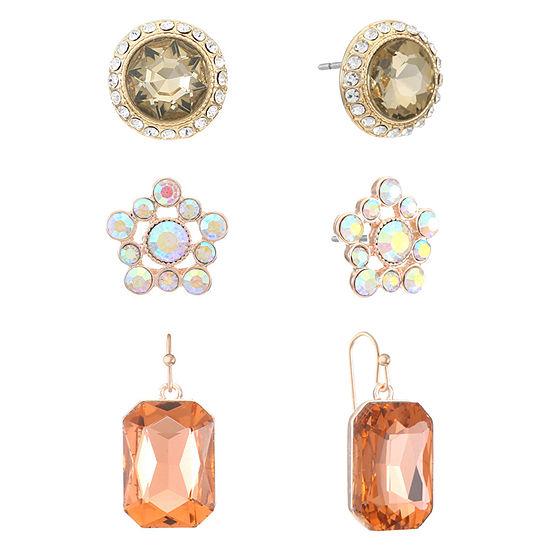 Monet Jewelry 3-pc. Multi Color Jewelry Set