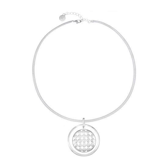 Liz Claiborne 17 Inch Omega Pendant Necklace
