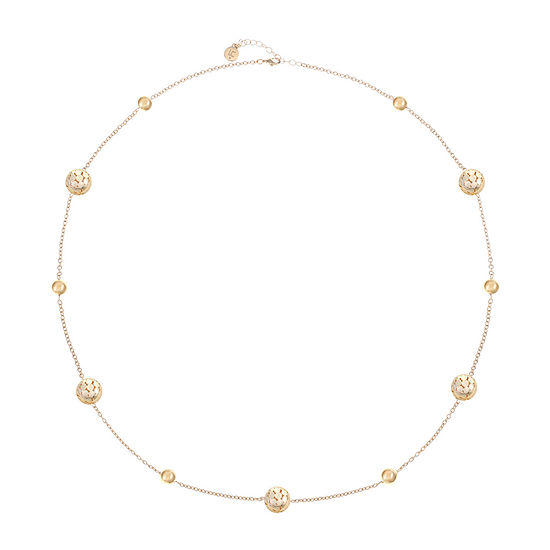 Liz Claiborne 33 Inch Cable Strand Necklace