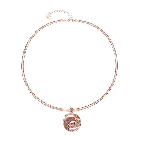 Monet Jewelry 17 Inch Omega Pendant Necklace