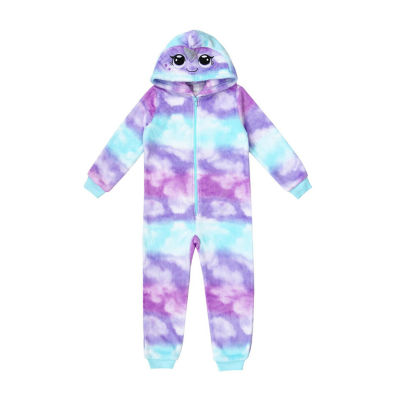Mommy and Me Narwhal One Piece Pajama - Girls