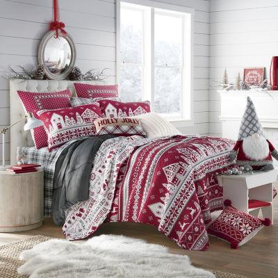 North Pole Trading Co. Winter Wonderland Quilt Set
