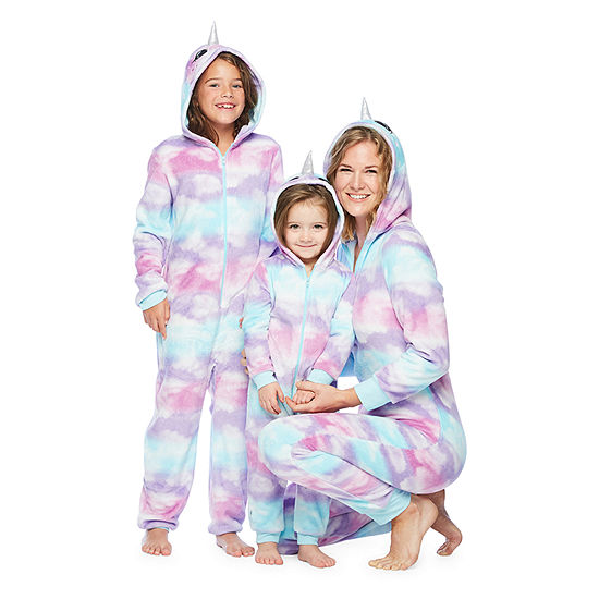 Mommy & Me Narwhal One Piece Pajama