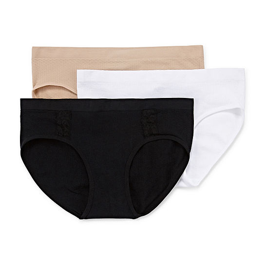 Real Knit 3 Pk Hipster Panty 53890c