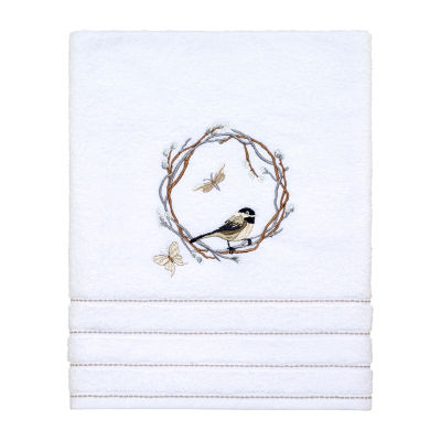 Avanti Live Simply Embellished Floral Bath Towel
