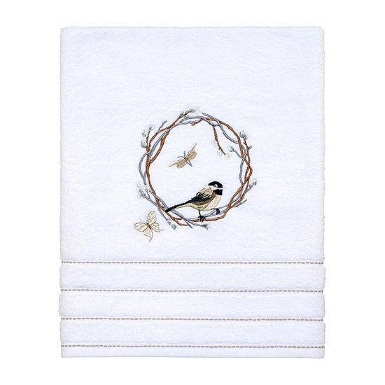 Avanti Live Simply Embellished Floral Bath Towel