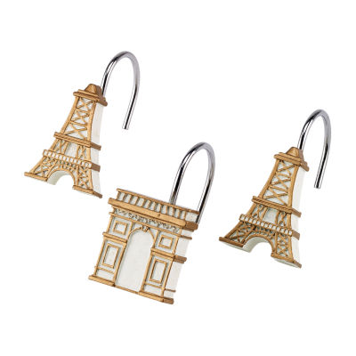 Avanti Paris Botanique Shower Curtain Hooks
