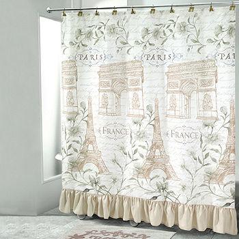 Avanti Paris Botanique Shower Curtain, Avanti Shower Curtain