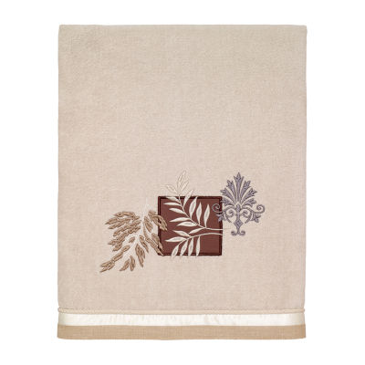 Avanti Serenity Embellished Leaf Bath Towel