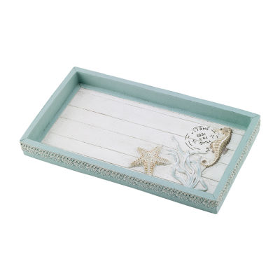 Avanti Avanti Farmhouse Shell Vanity Tray