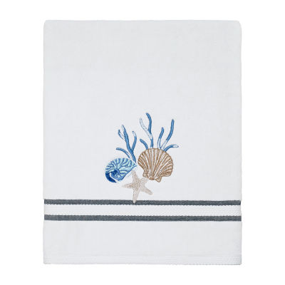 Avanti Blue Lagoon Embellished Bath Towel